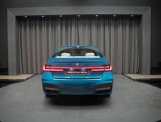BMW M760Li xDrive in Atlantis Blue