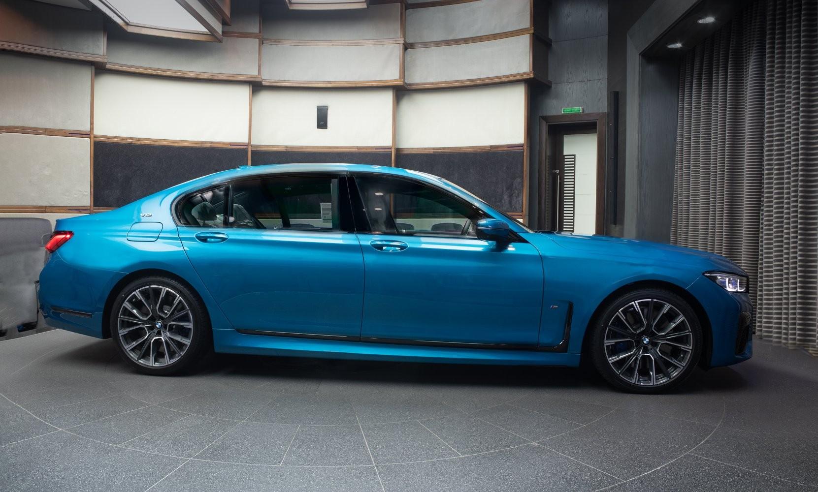 BMW M760Li xDrive in Atlantis Blue - BMW M760Li xDrive in Atlantis Blue