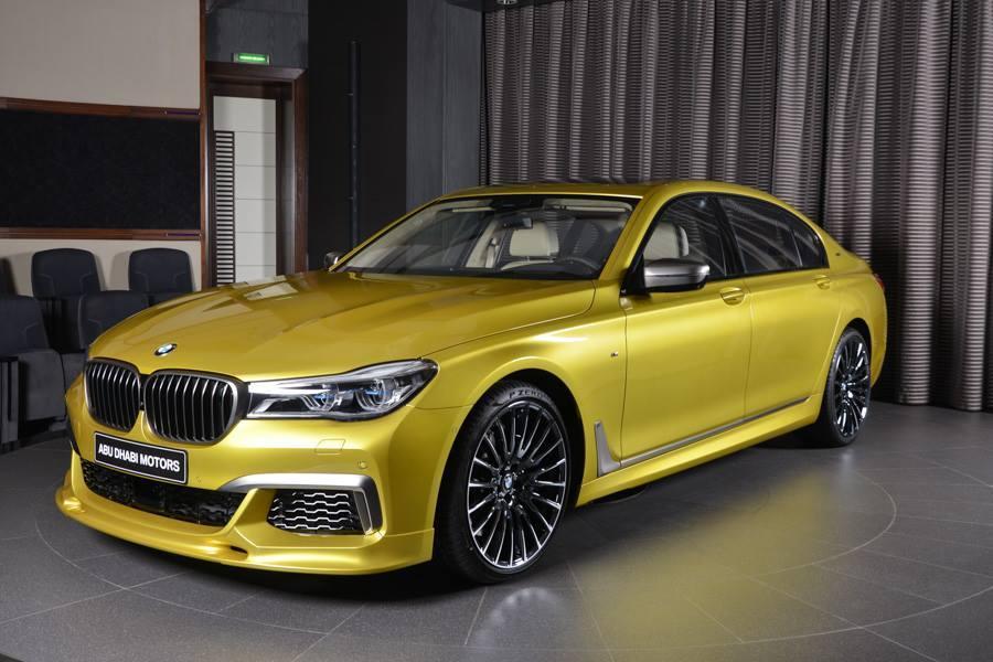 BMW M760Li xDrive in nuanta Austin Yellow - BMW M760Li xDrive in nuanta Austin Yellow