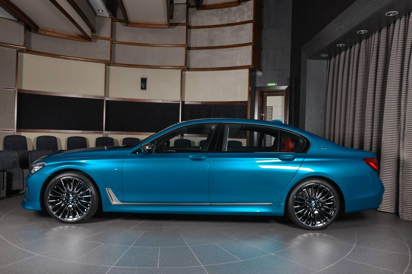 BMW M760Li xDrive in nuanta Long Beach Blue - BMW M760Li xDrive in nuanta Long Beach Blue