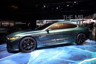 BMW M8 Gran Coupe Concept- poze reale