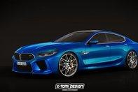 BMW M8 Gran Coupe- imagine digitala