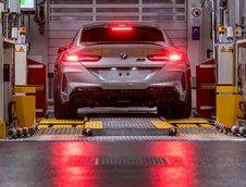 BMW M8 Gran Coupe pe linia de productie