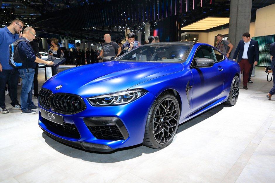 BMW M8 - Poze de la Frankfurt
