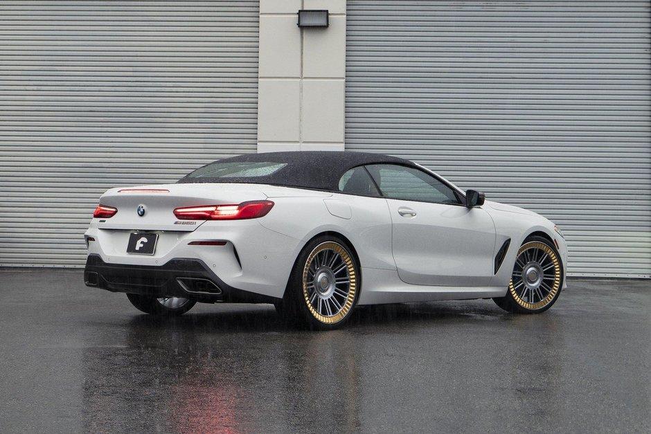 BMW M850i Cabriolet cu jante Forgiato