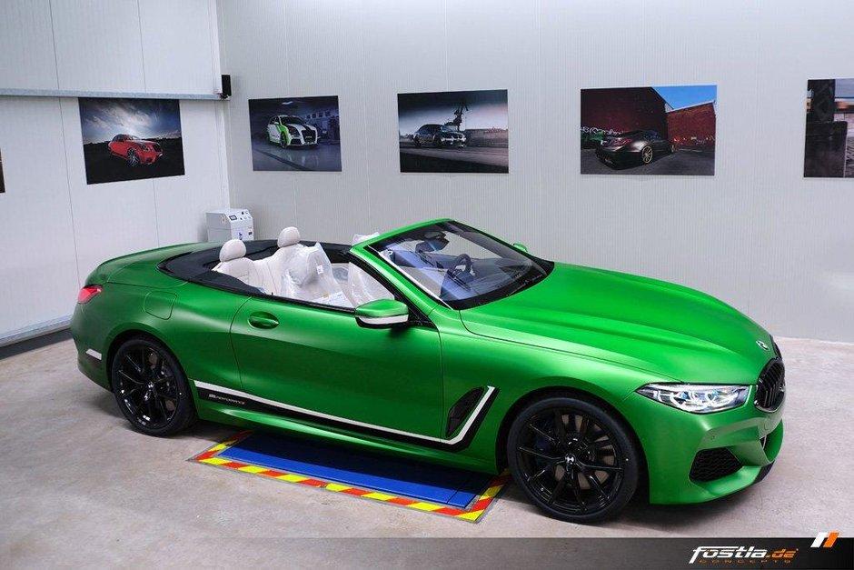 BMW M850i Cabriolet Matte Krypton Green