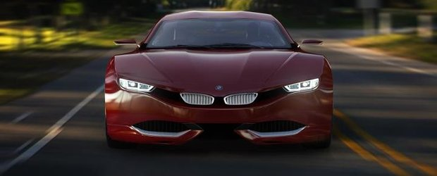 BMW M9 Concept Car by Radion Design, made in Romania