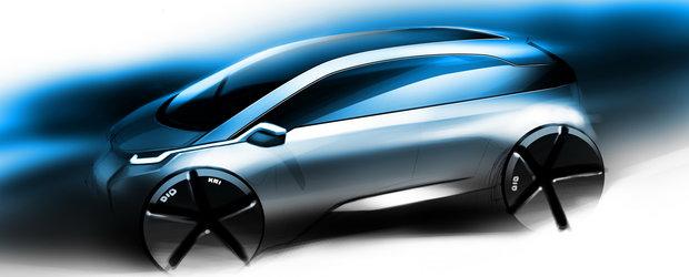 BMW Megacity - Prima imagine cu viitorul BMW electric