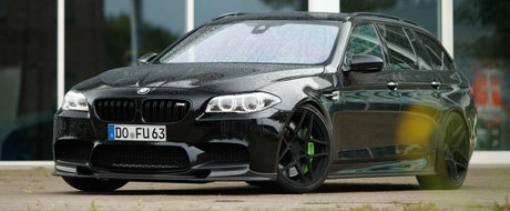 BMW n-a construit niciodata o asemenea masina, dar totusi exista. Are 900 de cai si tractiune spate