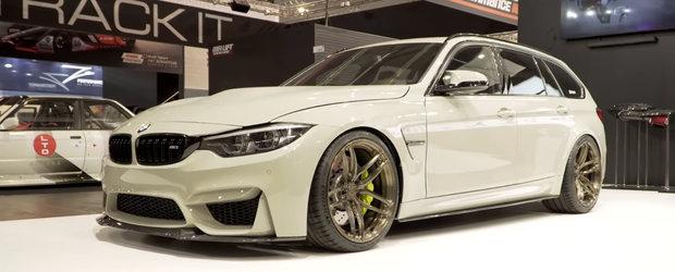 BMW n-a lansat masina asta si totusi ea exista. Fa cunostinta cu unicul M3 CS Touring din lume