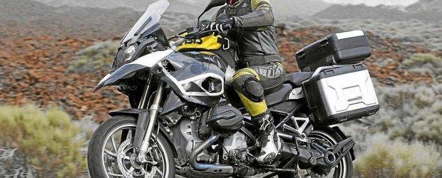 BMW ne arata putin din motocicleta R1250 GS