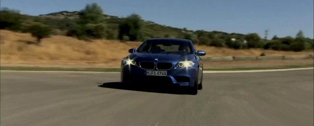 BMW ne ofera spre degustat doua noi filme cu ultimul M5