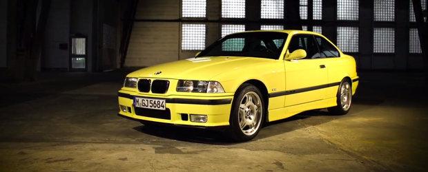 BMW ne spune povestea modelului M3. Totul despre generatia E36