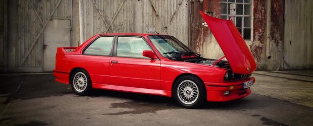 BMW ne spune povestea modelului M3. Totul despre generatia E30