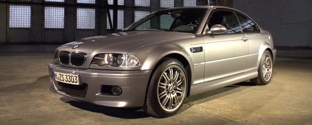 BMW ne spune povestea modelului M3. Totul despre generatia E46