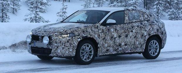 BMW o pune de-un nou SUV Coupe. Iata primele imagini spion cu X2!