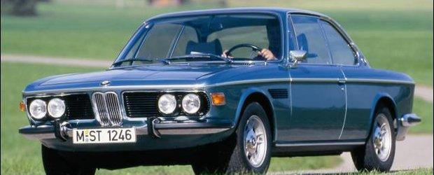 BMW oldschool: E9 sau 3.0 CSI reinviat de compania BMW printr-un film istoric