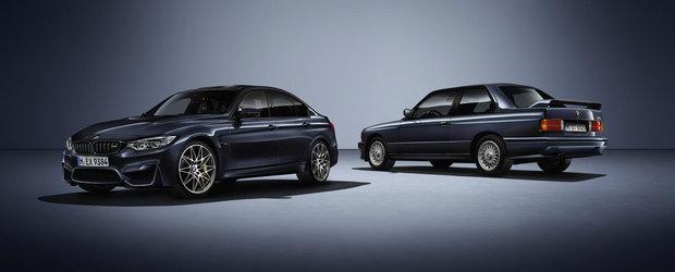"BMW omagiaza M3-ul E30 cu o editie speciala denumita ""30 Jahre M3"""