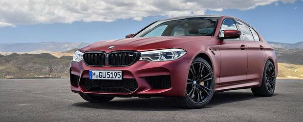 BMW opreste vanzarile si cheama in service noul M5. Masina bavareza are probleme cu pompa de benzina