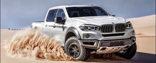 BMW pick-up camioneta: cum ti s-ar parea ideea unui Bimmer utilitar?