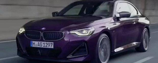 BMW pregateste o noua generatie pentru cea mai ieftina masina cu tractiune spate pe care o vinde acum. Prima imagine oficiala a ajuns mai devreme pe internet