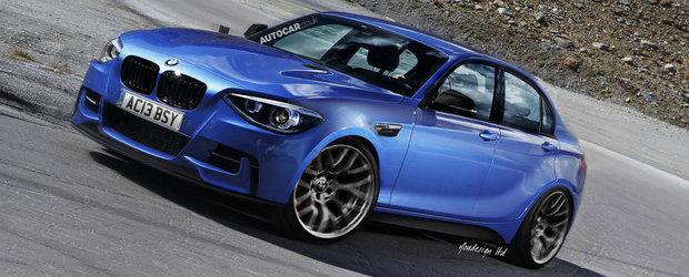 BMW pregateste un model Seria 1 Sedan cu tractiune fata