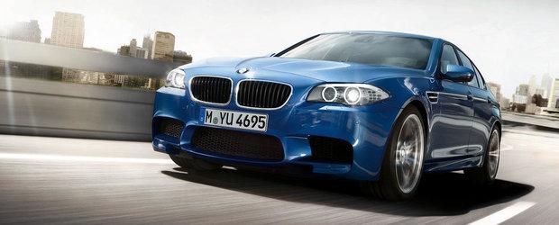 BMW pregateste un plus de putere pentru actualul M5