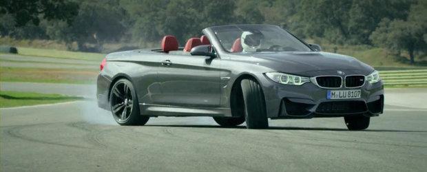 BMW prezinta in actiune noul M4 Convertible