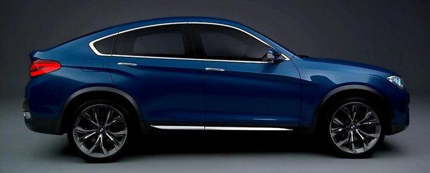 BMW prezinta in detaliu noul X4 Concept. VIDEO AICI!