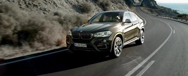BMW prezinta in detaliu si actiune noul X6