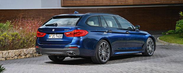 BMW prezinta oficial noul Seria 5 Touring. Galerie FOTO si VIDEO in articol