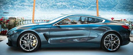 BMW pune capat speculatiilor. Cand incepe productia fabulosului Seria 8 Concept