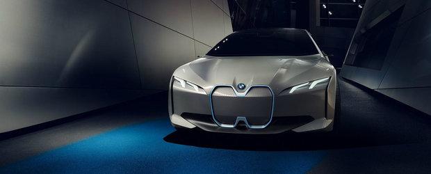 BMW pune paie pe foc cu i Vision Dynamics. Cum arata masina bavareza cu propulsie 100% electrica