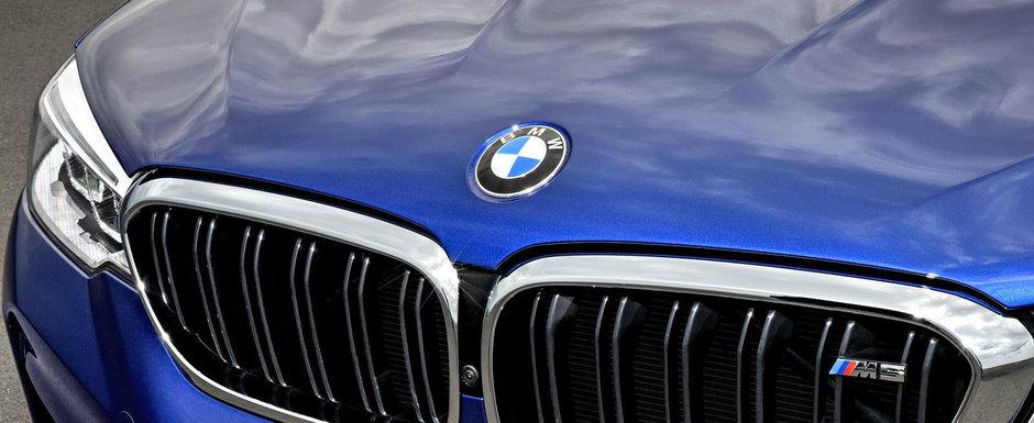 BMW renunta la actualul sau logo. Cu ce va fi inlocuita celebra elice alb-albastra