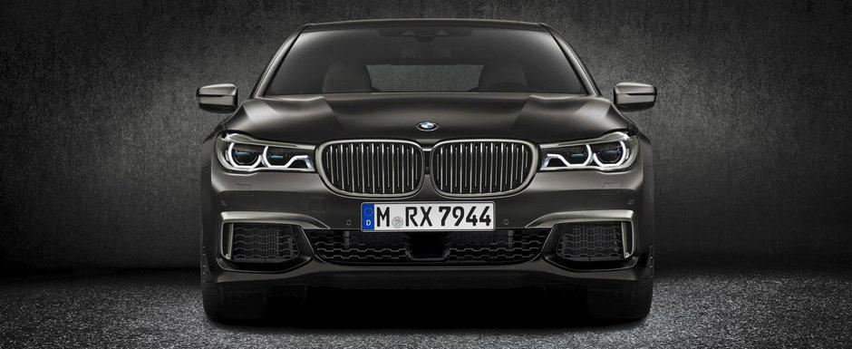 BMW revizuieste performantele noului M760Li xDrive. Cat de rapida e, de fapt, limuzina bavareza