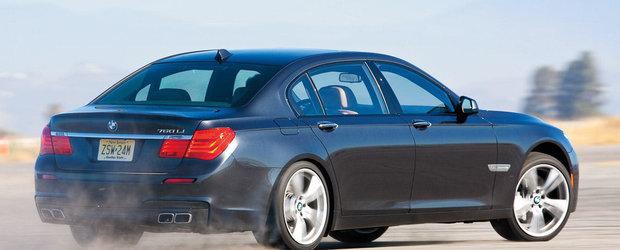 BMW scoate pe piata primul model Seria 7 M din istorie