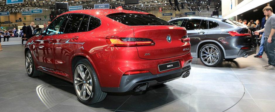 BMW scoate pentru prima oara in public noul X4. Uite cum arata in realitate crossover-ul bavarezilor