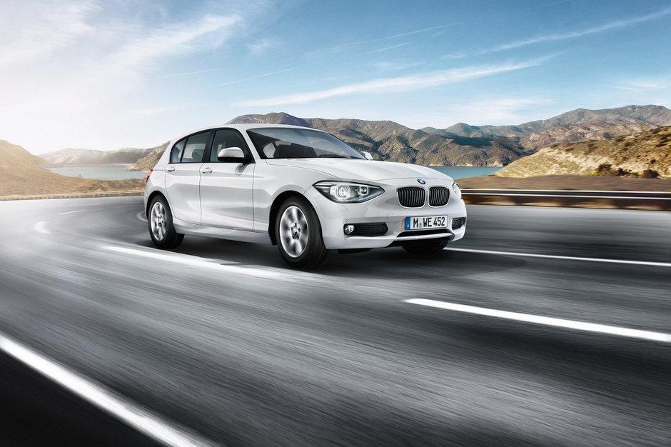 BMW Seria 1 2012 vine cu noi motorizari