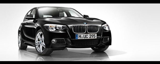 BMW Seria 1 cu pachet M Sport - Primele fotografii oficiale