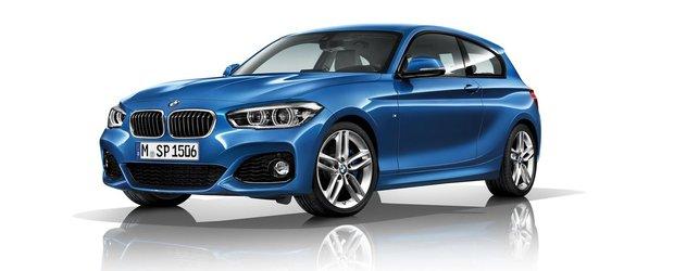 BMW Seria 1 facelift 2015 - primele poze si detalii oficiale