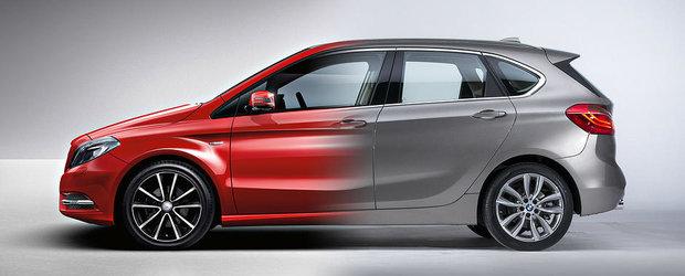 BMW Seria 2 Active Tourer vs Mercedes B-Class: Ce alegi si de ce?