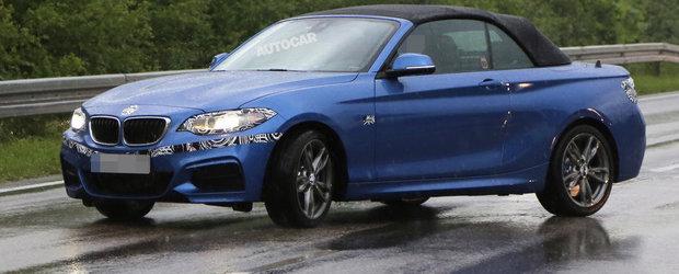 BMW Seria 2 Cabrio, surprins complet necamuflat. Cum ti se pare noul model?