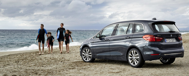 BMW Seria 2 Gran Tourer disponibil in Romania de la 29.600 Euro