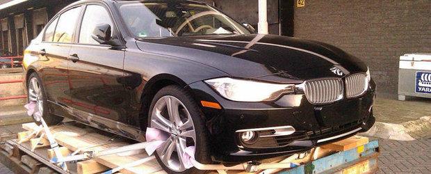 BMW Seria 3 - Primele imagini reale cu noul model!