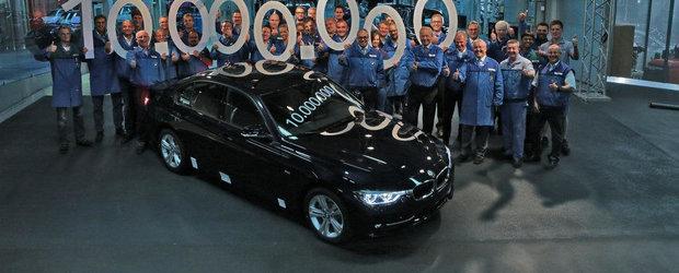 BMW Seria 3 Sedan celebreaza exemplarul cu numarul 10.000.000