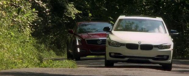 BMW Seria 3 versus Cadillac ATS - Batalia continua