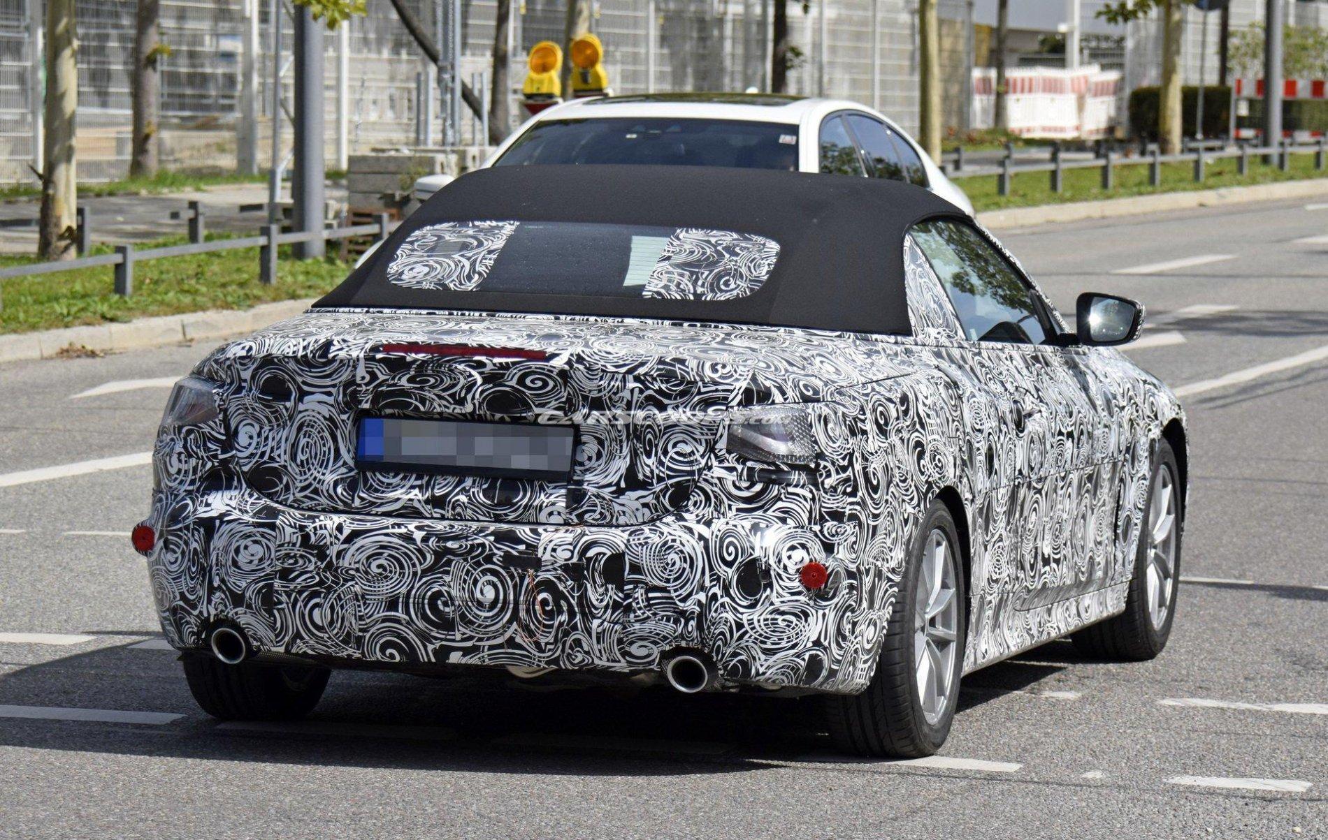 BMW Seria 4 Cabrio - Poze spion - BMW Seria 4 Cabrio - Poze spion