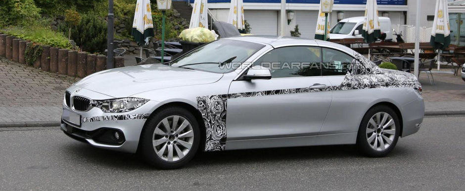 BMW Seria 4 Convertible ni se arata din nou, in trei nuante diferite