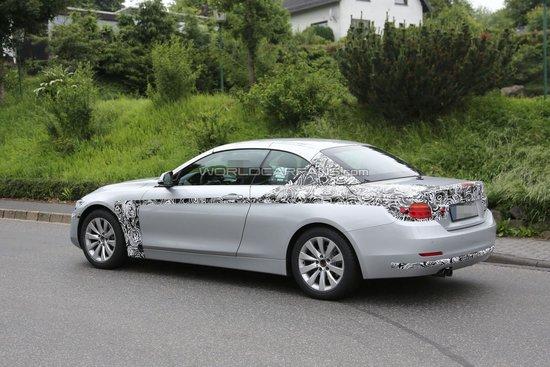 BMW Seria 4 Convertible - Noi Poze Spion