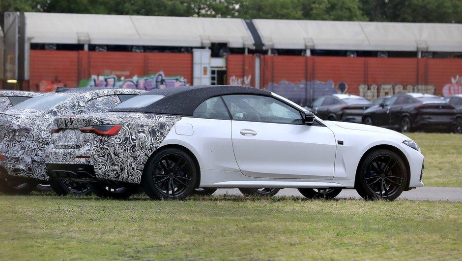 BMW Seria 4 Convertible - Poze Spion